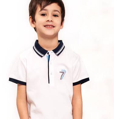 Koszulka polo z krótkim rękawem dla chłopca 3-8 lat C91G056_2