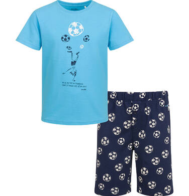 Endo - Piżama z krótkim rękawem dla chłopca, z piłką, 2-8 lat C03V011_1 2