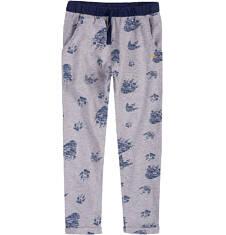 Spodnie dresowe z obniżonym krokiem dla chłopca 4-8 lat C71K014_1