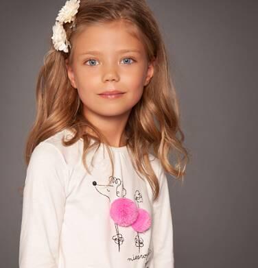 """Endo - """"Niezwykła postać"""" T-shirt z długim rękawem dla dziewczynki 3-8 lat D82G014_1"""