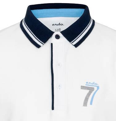 Endo - Koszulka polo z krótkim rękawem dla chłopca 9-13 lat C91G556_2