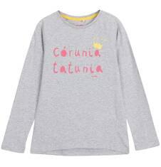 Bluzka z długim rękawem dla dziewczynki 3-8 lat D62G128_1