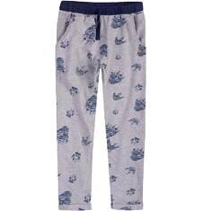 Spodnie dresowe z obniżonym krokiem dla chłopca 9-13 lat C71K514_1
