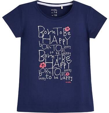 Endo - T-shirt z krótkim rękawem dla dziewczynki 3-8 lat D81G049_1