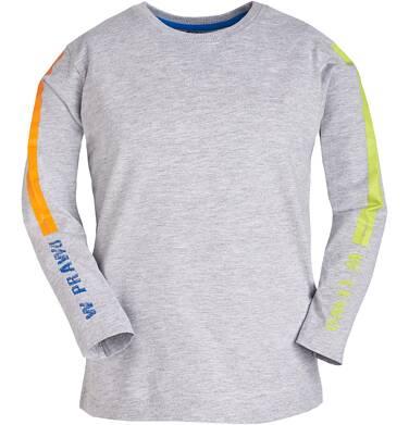 T-shirt z długim rękawem dla chłopca 9-13 lat C81G570_1