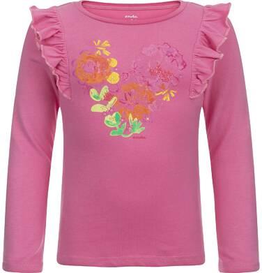 Endo - T-shirt z długim rękawem dla dziewczynki 3-8 lat D82G109_1