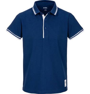 Endo - Koszulka polo z krótkim rękawem dla chłopca 9-13 lat C91G557_2