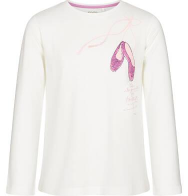 Endo - Bluzka z długim rękawem dla dziewczynki 3-8 lat D92G046_2