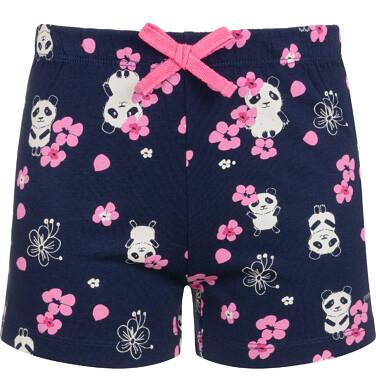 Endo - Piżama z krótkim rękawem dla dziewczynki, deseń w pandy, 9-13 lat D03V508_1,2
