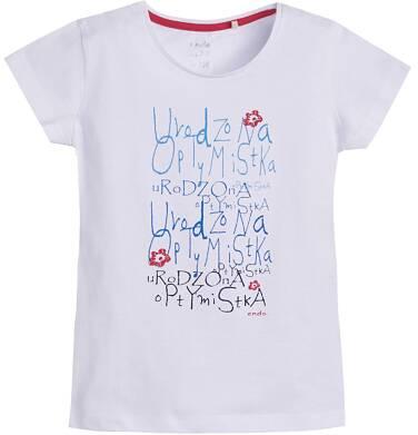 Endo - T-shirt dla dziewczynki 3-8 lat D81G050_1