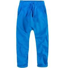 Spodnie dresowe z obniżonym krokiem dla chłopca 4-8 lat C71K003_1
