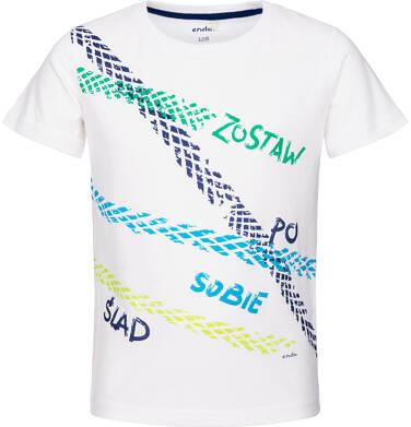T-shirt z krótkim rękawem dla chłopca 9-13 lat C91G583_1