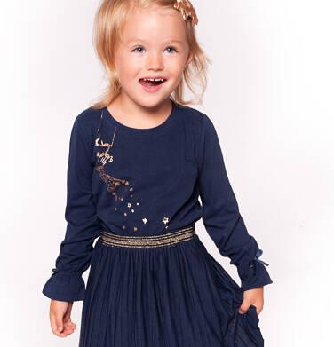 Endo - Bluzka z długim rękawem dla dziewczynki 3-8 lat D92G048_1