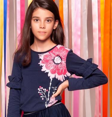 Endo - Tunika z długim rękawem dla dziewczynki 3-8 lat D82G118_1