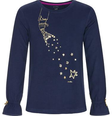 Endo - Bluzka z długim rękawem dla dziewczynki 9-13 lat D92G548_1