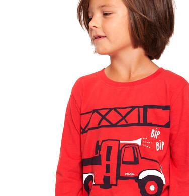 Endo - T-shirt z długim rękawem dla chłopca 3-8 lat C92G057_1