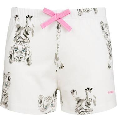 Endo - Piżama z krótkim rękawem dla dziewczynki, deseń w tygrysy, 2-8 lat D03V010_1 83
