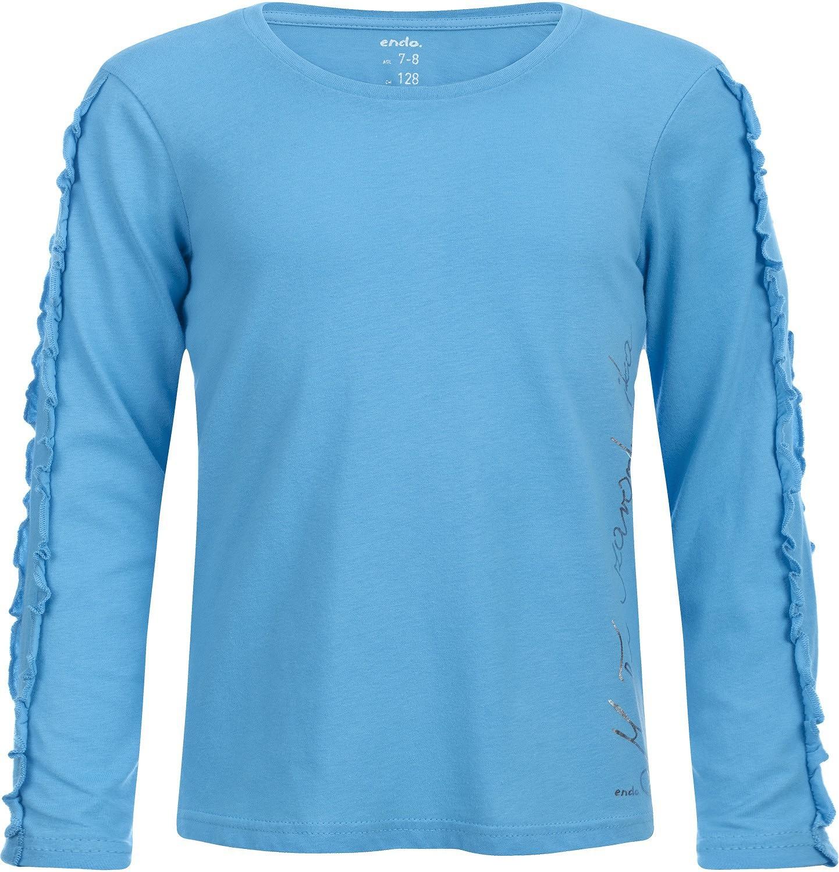 Endo - T-shirt z długim rękawem dla dziewczynki 3-8 lat D82G121_1