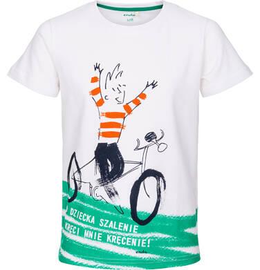 Endo - T-shirt z krótkim rękawem dla chłopca 9-13 lat C91G584_1