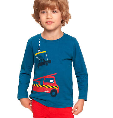 Endo - T-shirt z długim rękawem dla chłopca 3-8 lat C92G058_1