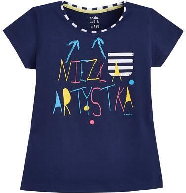 Endo - T-shirt z krótkim rękawem dla dziewczynki 3-8 lat D81G057_1