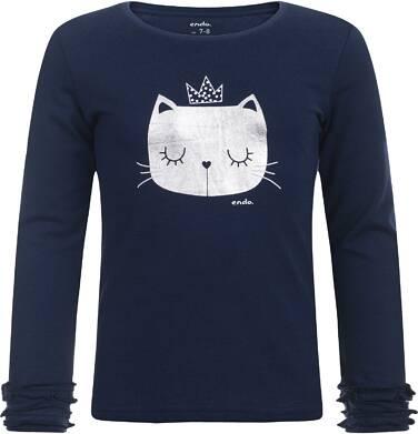 Endo - T-shirt z długim rękawem dla dziewczynki 3-8 lat D82G122_2