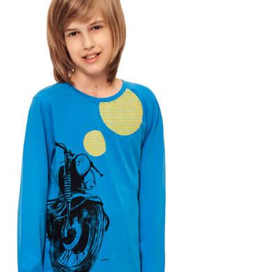 Endo - T-shirt z długim rękawem dla chłopca 9-13 lat C92G565_1,2