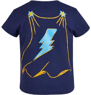 Endo - T-shirt z grafiką przód/tył dla chłopca 9-13 lat C81G616_1