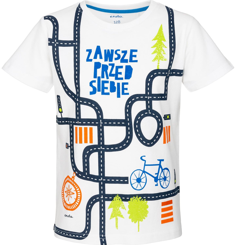 Endo - T-shirt z krótkim rękawem dla chłopca 9-13 lat C91G589_1