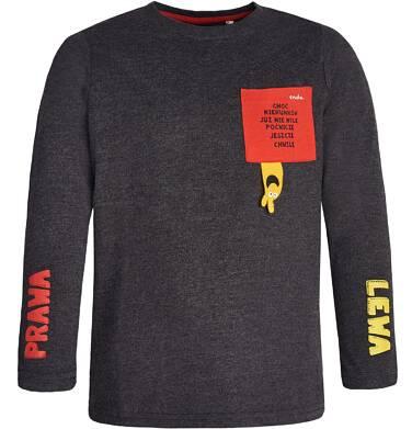 Endo - T-shirt z długim rękawem dla chłopca 9-13 lat C82G511_1