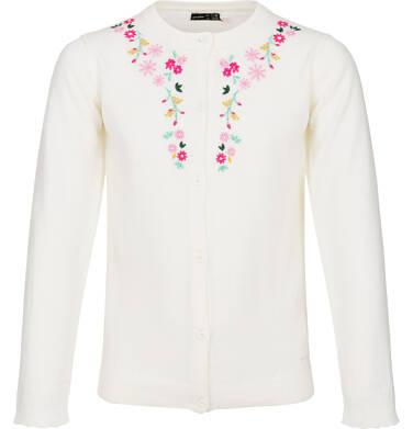 Sweter rozpinany dla dziewczynki 3-8 lat D82B006_1