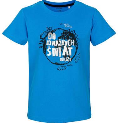 T-shirt z krótkim rękawem dla chłopca 3-8 lat C91G090_1