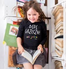 Endo - Bluzka z długim rękawem  dla dziewczynki 3-8 lat D72G152_1