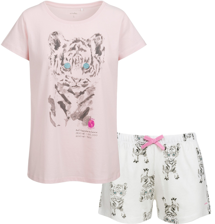 Endo - Piżama damska, deseń w tygrysy Y03V006_1
