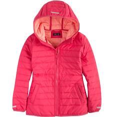 Pikowana kurtka z kapturem dla dziewczynki 9-13 lat D71A502_2