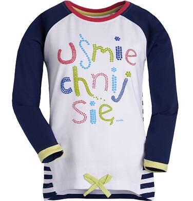 Endo - Tunika z długim rękawem dla dziewczynki 3-8 lat D81G060_1