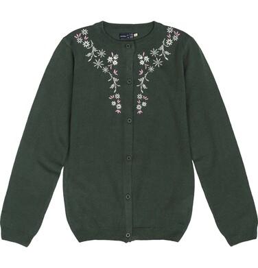 Endo - Sweter rozpinany dla dziewczynki 3-8 lat D82B006_2