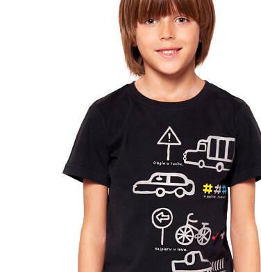 Endo - T-shirt z krótkim rękawem dla chłopca 3-8 lat C91G091_1