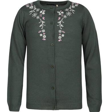 Sweter rozpinany dla dziewczynki 9-13 lat D82B506_2