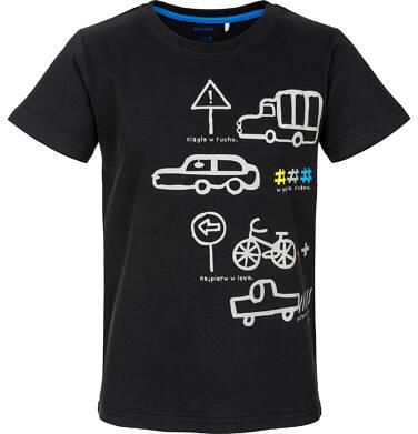 T-shirt z krótkim rękawem dla chłopca 9-13 lat C91G591_1