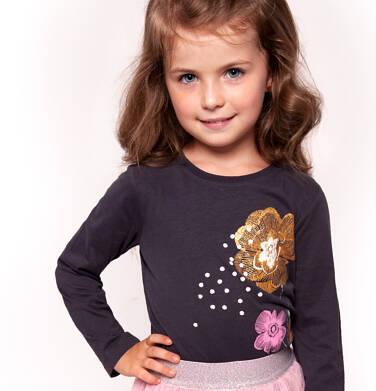 Endo - Bluzka z długim rękawem dla dziewczynki 3-8 lat D92G113_2