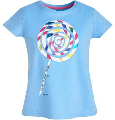 Endo - T-shirt z krótkim rękawem dla dziewczynki 9-13 lat D81G538_1
