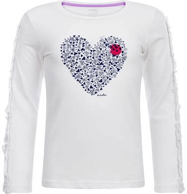 Endo - T-shirt z długim rękawem dla dziewczynki 3-8 lat D82G611_1
