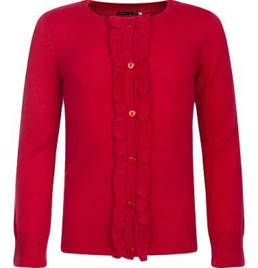 Sweter rozpinany dla dziewczynki 3-8 lat D82B011_1