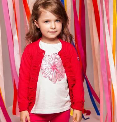 Endo - Sweter rozpinany dla dziewczynki 3-8 lat D82B011_1