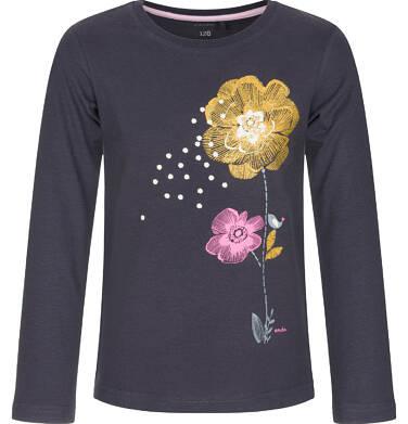 Endo - Bluzka z długim rękawem dla dziewczynki 9-13 lat D92G613_2