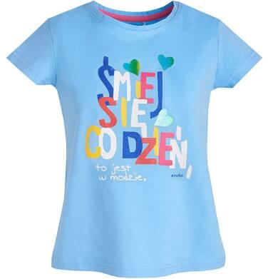 Endo - T-shirt z krótkim rękawem dla dziewczynki 9-13 lat D81G539_2