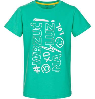 T-shirt z krótkim rękawem dla chłopca 9-13 lat C91G592_1