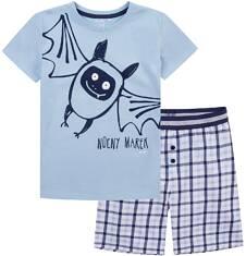 Piżama z krótkimi spodenkami dla chłopca 4-8 lat C71V001_1
