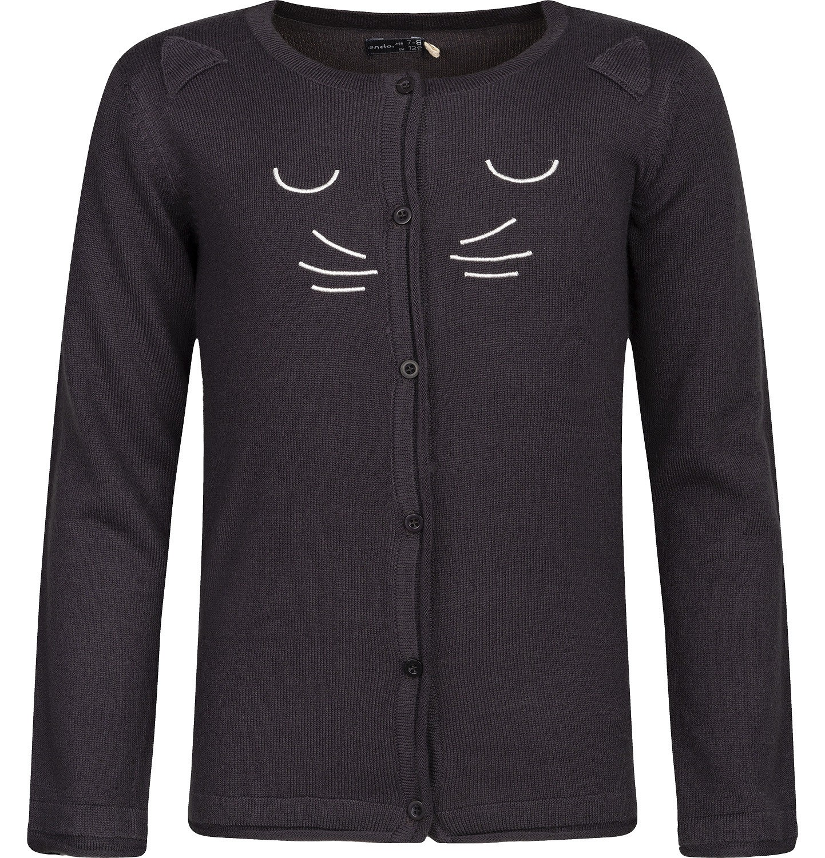 Endo - Sweter rozpinany dla dziewczynki 3-8 lat D82B016_1